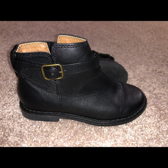 GAP Other - Black toddler booties